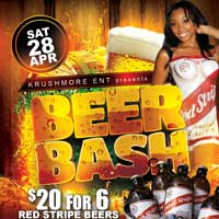 RED STRIPE BEER BASH