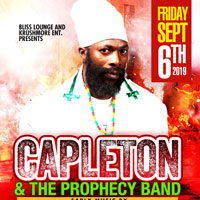 CAPLETON LIVE with THE PROPHECY BAND