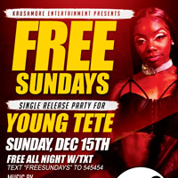 FREE SUNDAYS ft YOUNG TETE