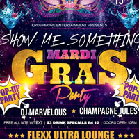 SHOW ME SOMETHING:: MARDI GRAS PARTY